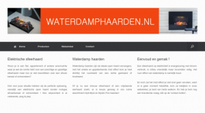 Waterdamp Haarden